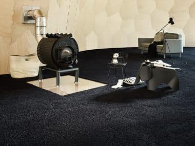 Solid-color carpeting POODLE 1400