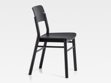 Lacquered wooden chair POP | Lacquered chair