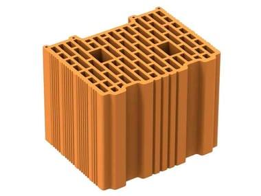 Thermal insulating clay block POROTON PLAN P800AS