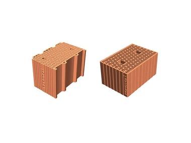 Thermal insulating clay block POROTON Thermal clay blocks