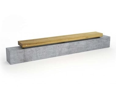 Backless pine Bench PORTO | Wooden Bench