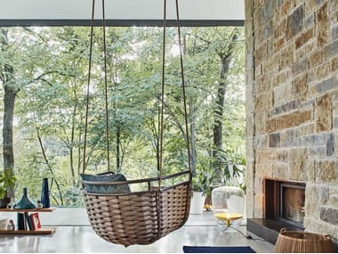 Aluminium garden hanging chair PORTOFINO | Garden hanging chair