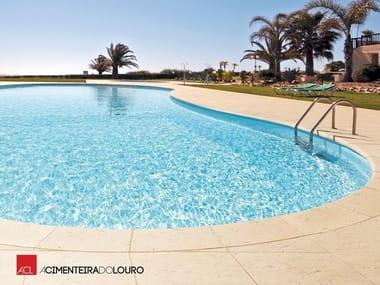 Concrete Pool edging PORTUCALE | Pool edging