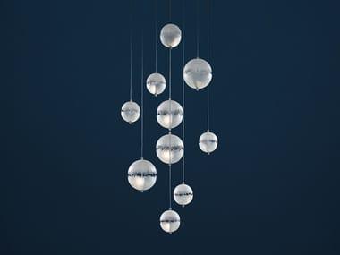 LED ceiling lamp POSTKRISI CHANDELIER