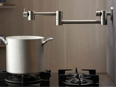 Wall-mounted professional stainless steel kitchen tap POT FILLER 9600