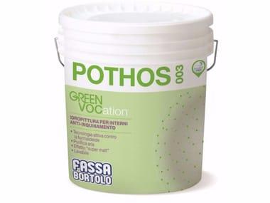 Idropittura per interni anti-inquinamento POTHOS 003