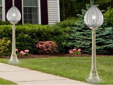 Classic style glass garden lamp post POVEGLIA EP 423