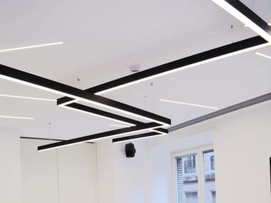 Linear lighting profile for LED modules POWER IN XL