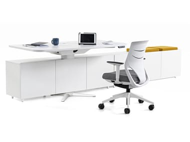 Individual melamine office workstation POWER | Individual office workstation