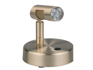 Lampada da tavolo a LED orientabile in metallo POWER | Lampada da tavolo a LED