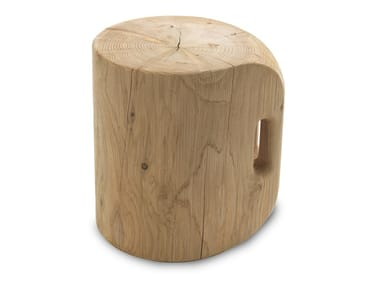 Cedarwood stool PRÊT - À -PORTER
