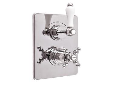2 hole thermostatic shower tap PRAGA - PRAGA CRYSTAL - F8213-PR