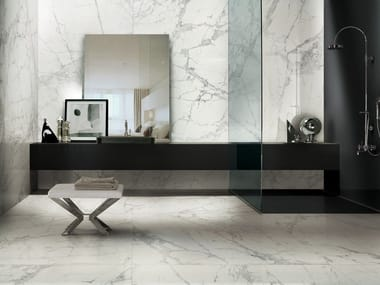 Porcelain stoneware wall/floor tiles with marble effect PREXIOUS OF REX