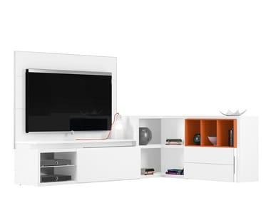 Mobili angolari tv angoliera bassa mobile porta tv ad for Mobile salotto angolare