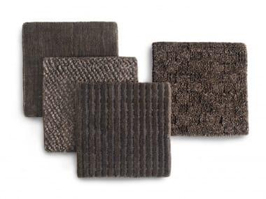 Cotton rug PREMIUM COLLECTION DARK BROWN