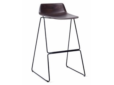 High multi-layer wood stool PRESSIOUS
