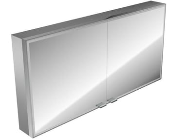 Wall-mounted bathroom mirror with cabinet PRESTIGE | Mirror with cabinet