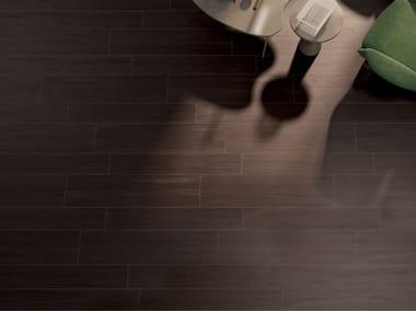 Pavimento/rivestimento in gres porcellanato effetto legno PRESTIGE WENGE'