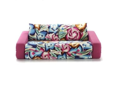 Convertible fabric sofa with removable cover PRIMO