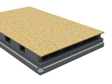 Thermal insulation panel PRIMATE VENTILO GREY