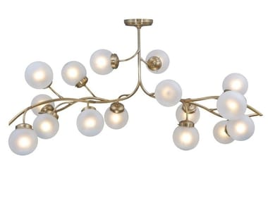 Brass ceiling lamp PRIMAVERA CHANDELIER 16 | Ceiling lamp