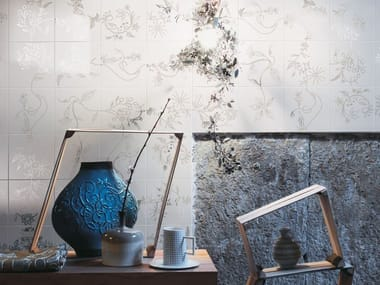 Revêtement mural en céramique bicuisson PRIMAVERA PLATINUM