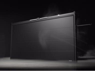 Sectional garage door PRIME Black Edition