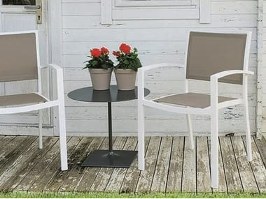 Batyline® garden chair with armrests PRIME