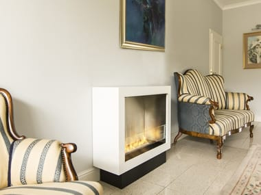 Open bioethanol fireplace with remote control PRIMEBOX | Fireplace with remote control
