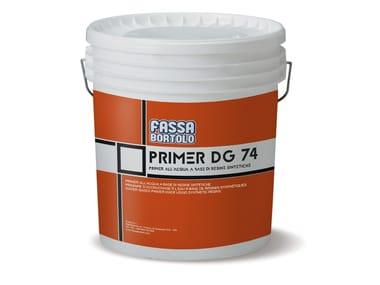 Primer all'acqua a base di resine sintetiche PRIMER DG 74