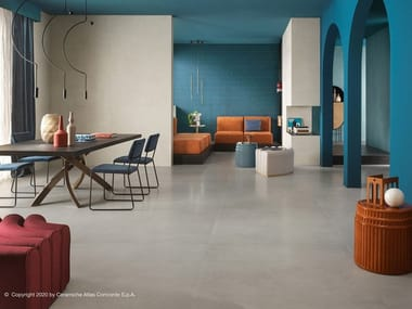 Porcelain stoneware flooring with resin effect PRISM | Flooring