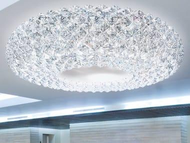 Lampada da soffitto con cristalli PRISMA 821 | Lampada da soffitto