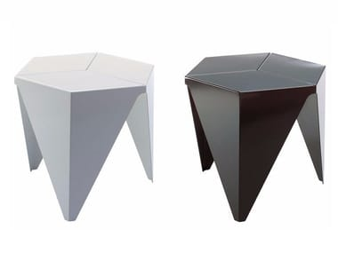 Mesita de aluminio PRISMATIC TABLE