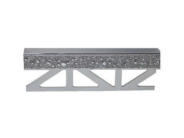 f42ae439fd542 Bordo decorativo de latão cromado com cristais Swarovski® para paredes  PRO-PART LI CRYSTAL