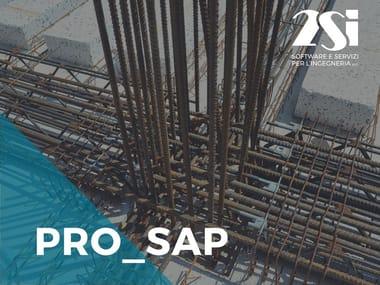 Generazione esecutivi per strutture in c.a. PRO_SAP LT Modulo 04