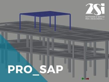 Software integrato Calcolo strutturale CAD PRO_SAP LT Standard