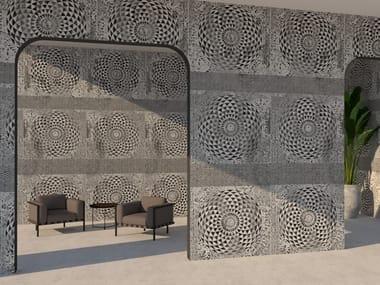 Rivestimento ceramico in grès laminato sottile decorato PROGETTO 6