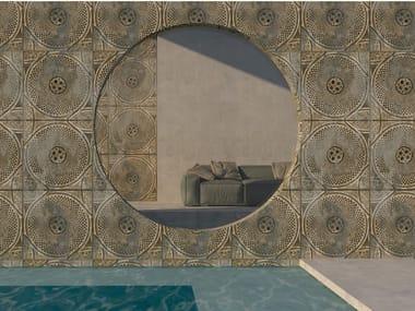 Rivestimento ceramico in grès laminato sottile decorato PROGETTO 8