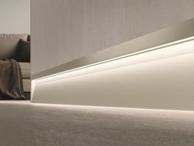 Battiscopa in alluminio con LED PROLIGHT METAL LINE S