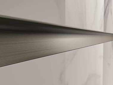 Decorative metal edge profile for walls PROLIST S