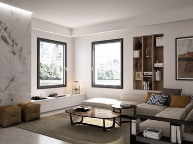 PVC triple glazed window PROLUX VITRO