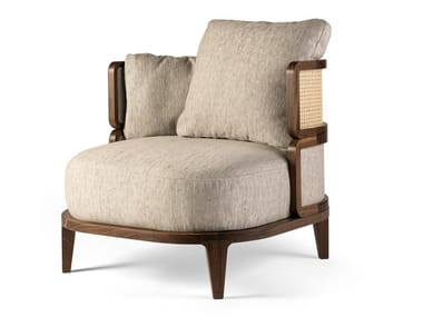 Armchair with armrests PROMENADE LOUNGE