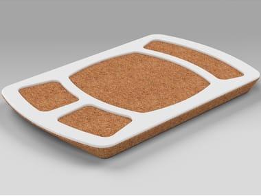 Rectangular cork tray PROPS | Cork tray