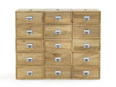 Solid wood shoe cabinet PROSPECTUS