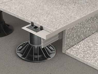 Profilo perimetrale per pavimentazioni sopraelevate PROSUPPORT PROFILE T
