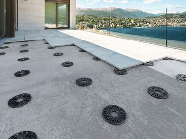 Indoor/outdoor Modular system for raised flooring PROSUPPORT SLIM SYSTEM