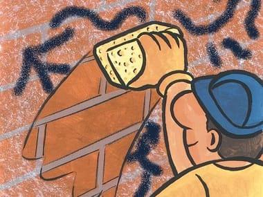 Anti-graffiti treatment PROTECH GRAFFITI ONE SHOT