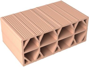 Slab clay block PROVERA H16X40