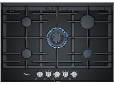 Gas built-in glass ceramic hob PRR7A6D70 | Gas hob