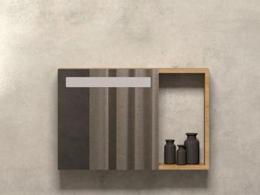 Wall-mounted bathroom mirror PRUA | Mirror
